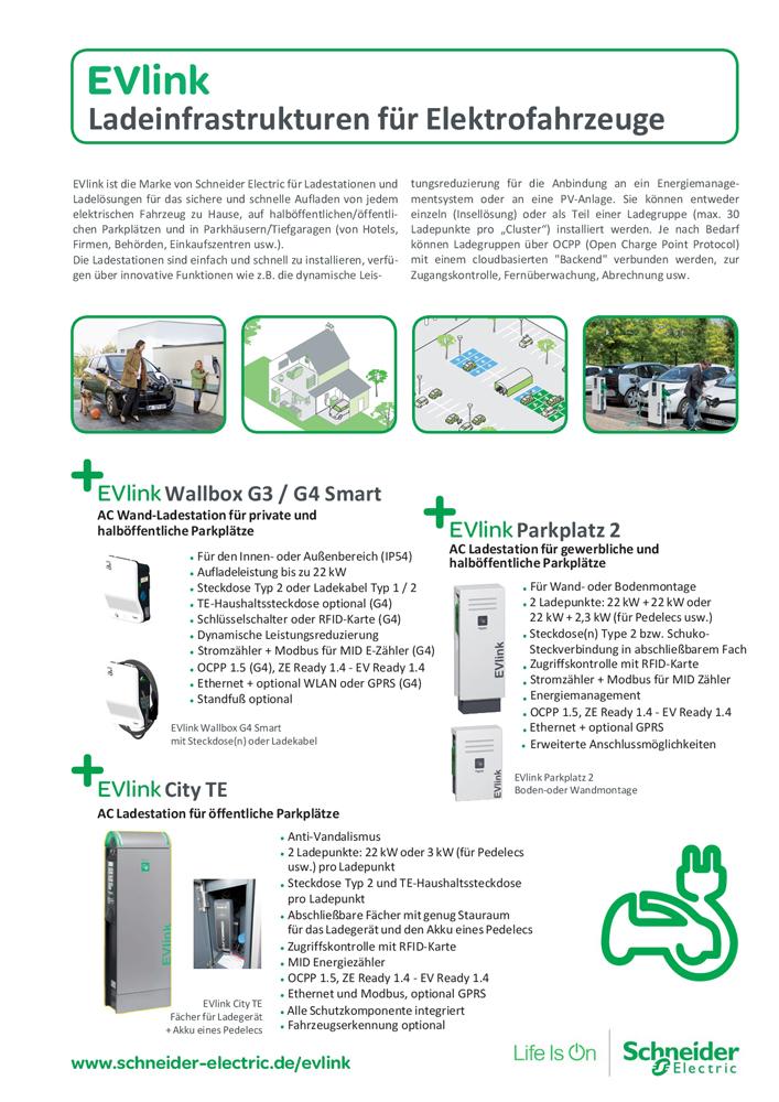 20160610 Schneider Electric - EVlink Übersicht v3.2DE seite1