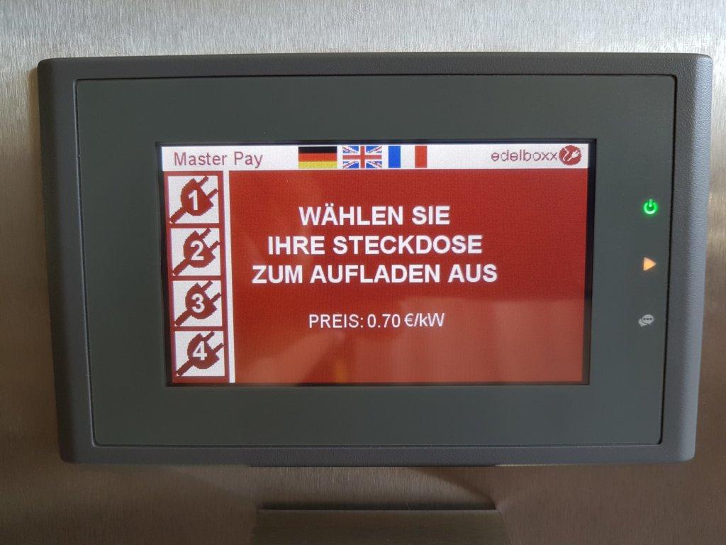 edelboxx-Touch-panel-Master-Pay-Münzsteuerung